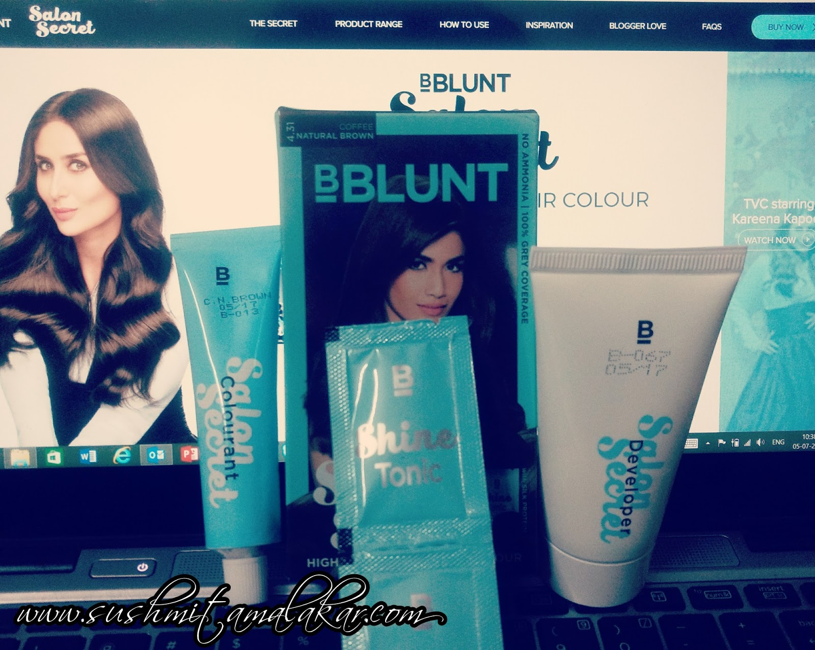 Product Review Bblunt Salon Secret Hair Color Coffee Natural Brown Sushmita Malakar